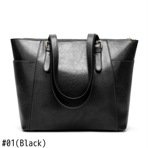 Leather Shoulder Bag Large Capacity Handbag Casual Tote Bag Messenger Bag カジュアル ショルダーバッグ トートバッグ レザー ハンドバッグ メッセンジャーバッグ (HF99-8064554)