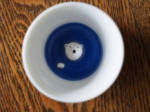 シロクマの熊五郎 お猪口3号