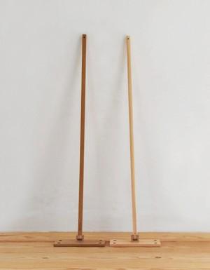 木っぷ 木製フロアモップ 栗(写真左)