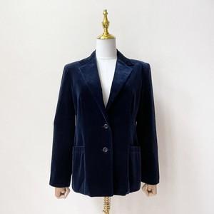 tan f jay 70年代 USA製 ベロア テーラードジャケット アメリカ 古着 日本L