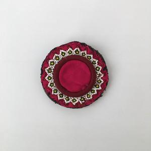 アフガニスタンの刺繍のブローチ|Afghan Embroidery Brooch