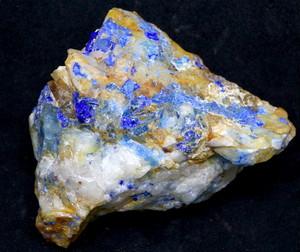 カリフォルニア産 リナライト Linarite (青鉛鉱) 81g LN001