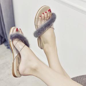 【sandal】 slippers PVC summer  2018 new casual fashion open toe sandal