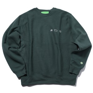MISTER GREEN TRIFECTA CREW NECK SWEATER(FOREST)