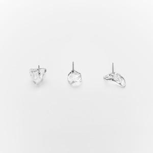 _cthruit シースルーイット fragment earring ピアス 【clear】