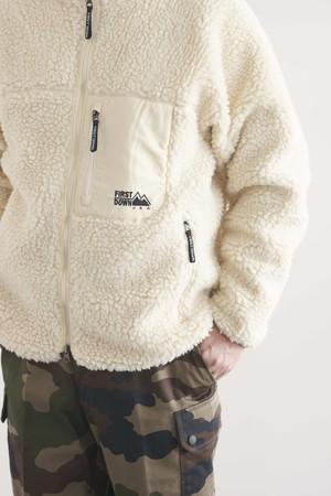 FIRST DOWN fleece jacket