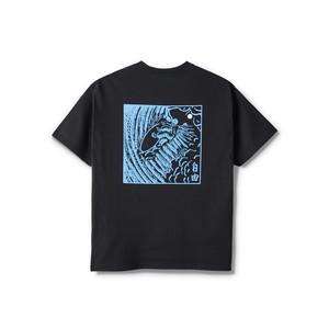 POLAR SKATE CO / SHIN TEE -BLACK-