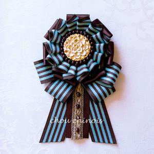 【2020 Valentine 限定】 Chocolate mint* ブローチ&チャーム