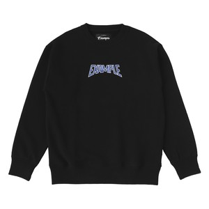 S.W CREW NECK / BLACK×BLUE