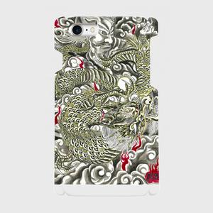 雲龍 側表面印刷スマホケース iPhone7 ツヤ有り(コート)