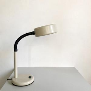 Dutch Vintage Desk Lamp / BEIGE 70's オランダ