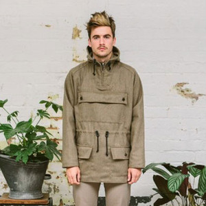 Edale Smock Olive Pure Wool