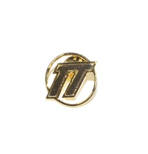 D.TT.K EMBLEM LOGO PIN BADGE GOLD