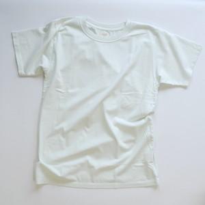 ※アウトレット品 Men's 製品染めクルーネックTシャツ Mint Lサイズ