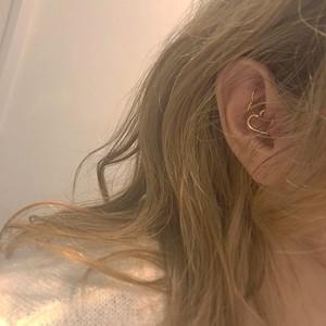 HEART Daith body jewelry 14G K18YG #LJ18029P