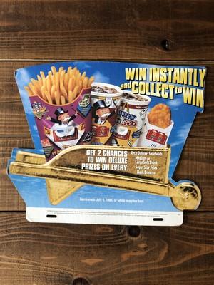 """McDonald's Pop ''MONOPOLY"""" /マクドナルド  モノポリー"""