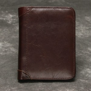 Leather Wallet Vintage Purse Multi Card Holder Wallet レザー ビンテージ 財布 パスケース ウォレット (YYB99-2005238)