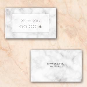 NC15【サンプル】結婚式 席札