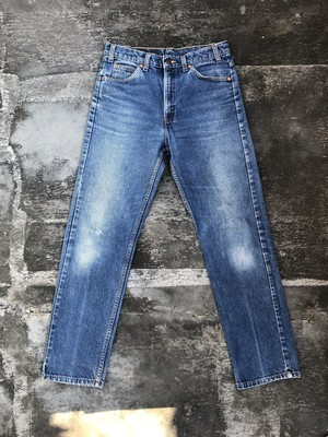 USED / Levis 505 90's orange tab - made in USA -