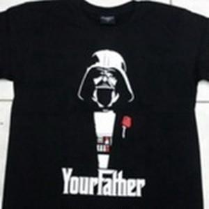 ベーダー×ゴッドファーザー「Your Father」人気映画 コラボTシャツ