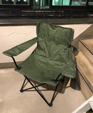 "DEAD STOCK   ""BRITISH ARMY FOLDING CHAIR(2011年製)"
