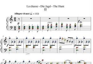 狩 ブルグミュラー作曲 25の練習曲より 第9番