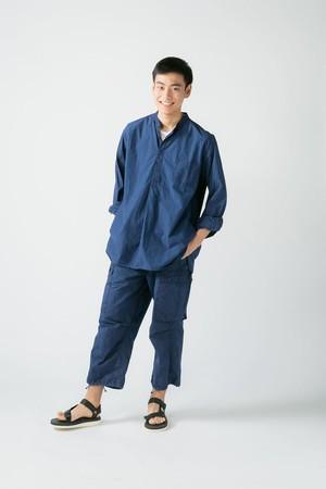 【No. BS607】 Unisex Bandcollar Pullover