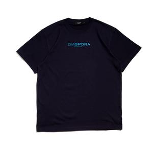 Diaspora Skateboards【ディアスポラスケートボーズ】BM Logo Tee (Navy)