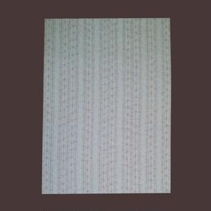 小紋 125 白地臈纈風の変わり縞