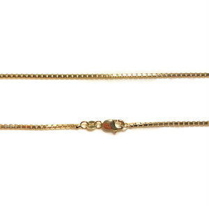 "14K 1.7mm 22"" Box Chain(22インチ)"