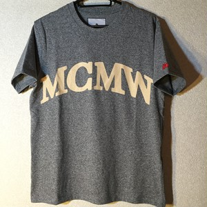 "McMamWell Print Tee ""logo"" L size only"