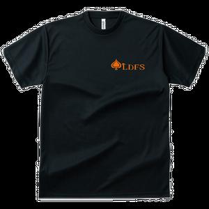 LDFSブレイドTシャツ 速乾素材 黒