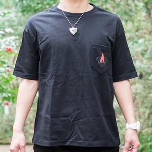 木造の瞬間 ポケットTシャツ