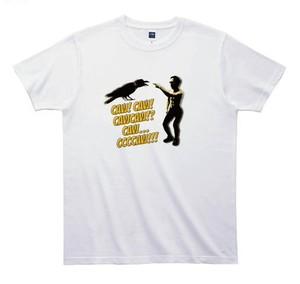 《江頭2:50Tシャツ》TE008/ Caw! Caw!