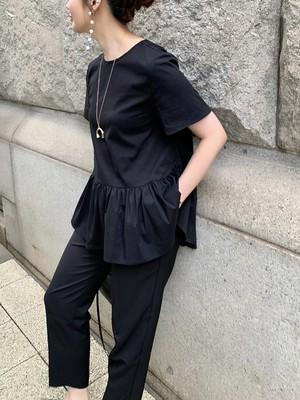 tulips blouse / black  6/5 21:00 ~ 再販 (即納)