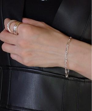 【ISOLATION / アイソレーション】SV925 Figaro Chain Bracelet