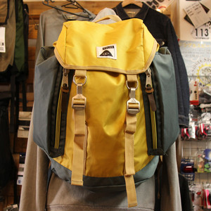 【最終セール40%OFF】POLeR Rucksack / Super Mustard/Dark Forest