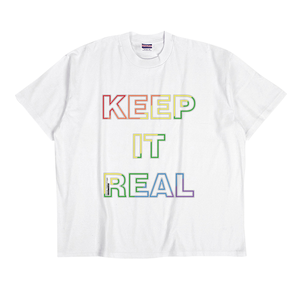 Keep it Real_pride Tシャツ