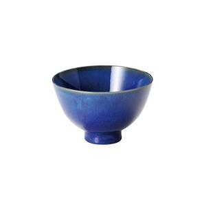 「群青 Gunjo」お茶碗 飯碗 約12cm ネイビー 美濃焼 288009
