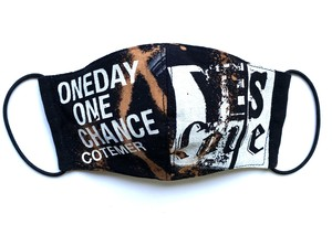 【COTEMER マスク 日本製】ONE DAY ONE CHANCE BAND × PRINT MASK 0429-158