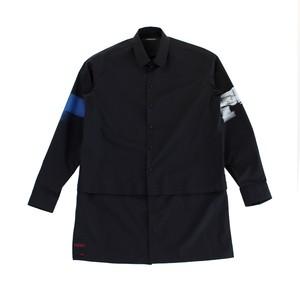 ALMOSTBLACK Printed Shirt Black