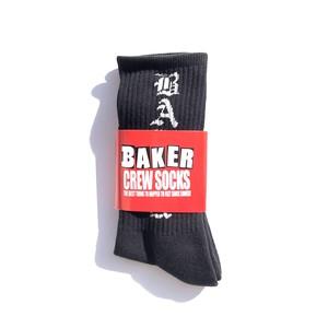 BAKER SKATEBOARDS - Oakland Black Sock