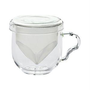 ガラスティーカップ(茶こし付き)
