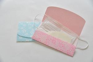 越前和紙マスクケース with 消臭和の紙