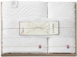 今治謹製白織タオルタオルセット SR3539