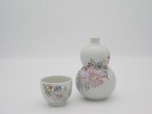 九谷フェスティバル 華 徳利と盃 (右)