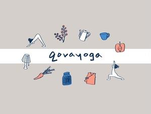 6月qovayogaオンラインクラス