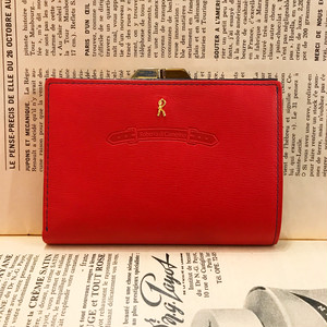 Roberta di Camerino  red leather wallet