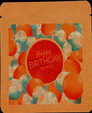 【名入れコーヒー】まるごと印刷コースお誕生日