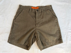 GOWEST CANYONING SHORTS/C/L LOOSE OX -damage&dyed wash-